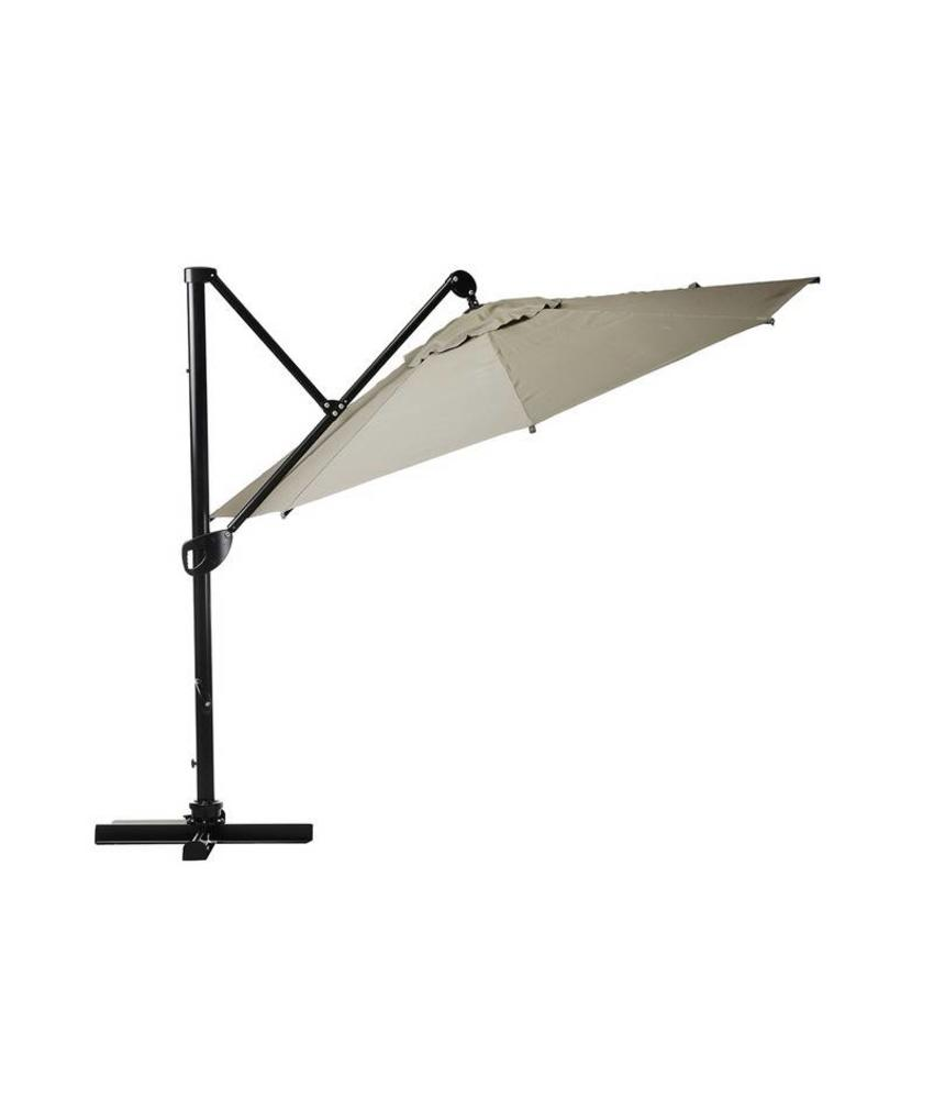 """Parasol """" Fehmarn 3,5 m Taupe """""""
