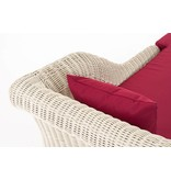 "Chaise longue "" Savannah Wit-Rood """