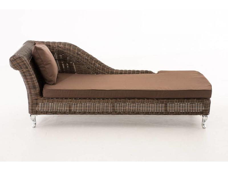 """Chaise longue """" Savannah Bruin-Bruin """""""