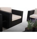 "Loungeset "" BRAC XL Zwart """