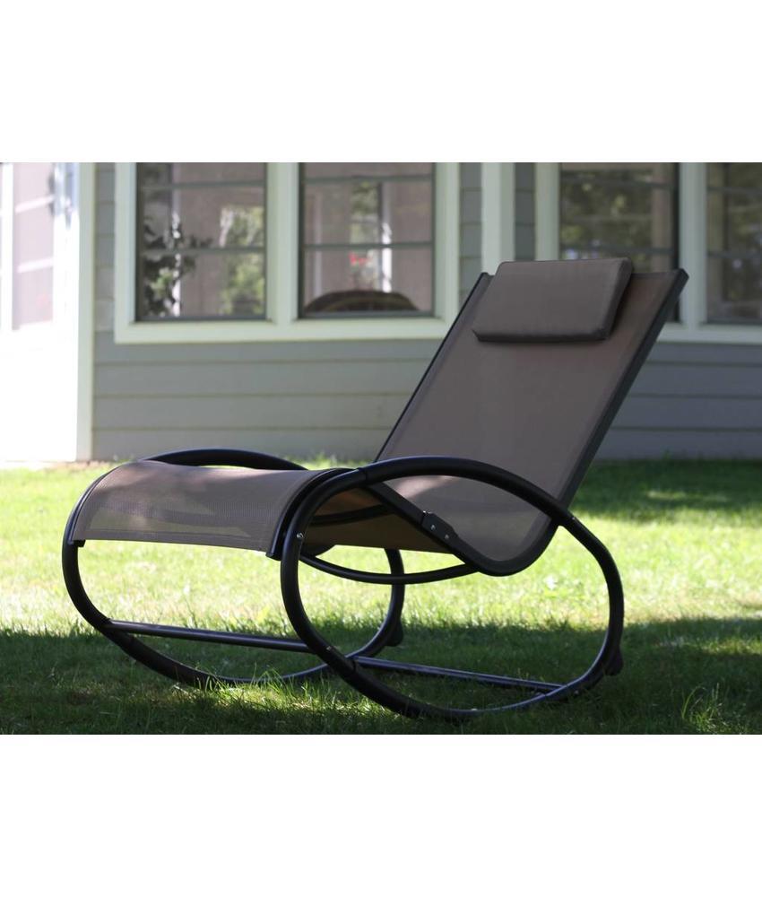 """Tuin schommelstoel """" Wave Rocker Cocoa """""""
