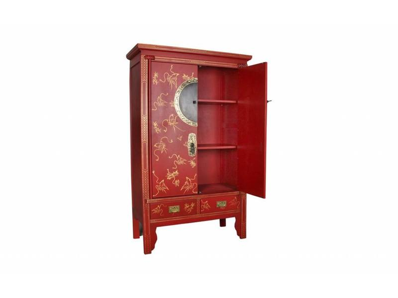 Buffetkast Chinese rood - Verre Oosten