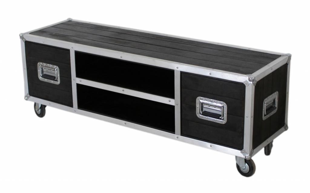 Wielen Voor Meubels : Tv meubel op wielen darkboxes vhcollection