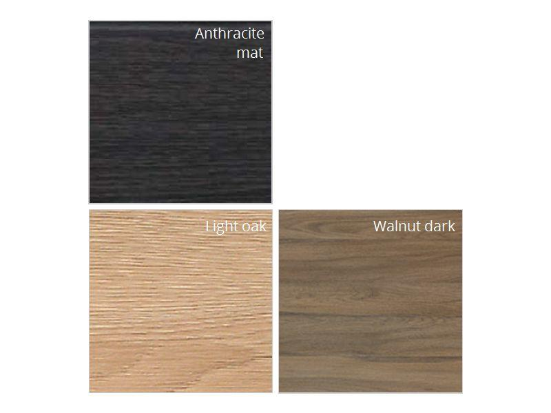 "Badkamerkast "" Atria XL walnut dark """