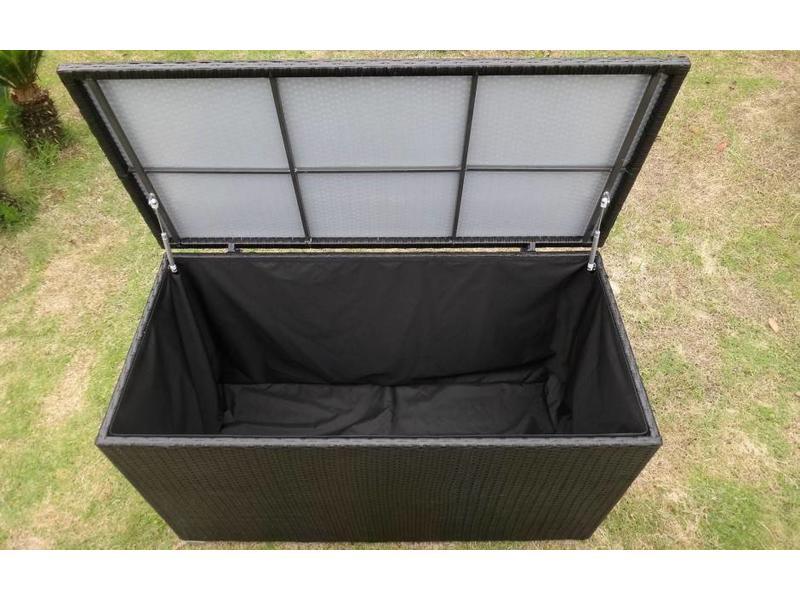 """Kussenbox """" Medium Zwart """""""