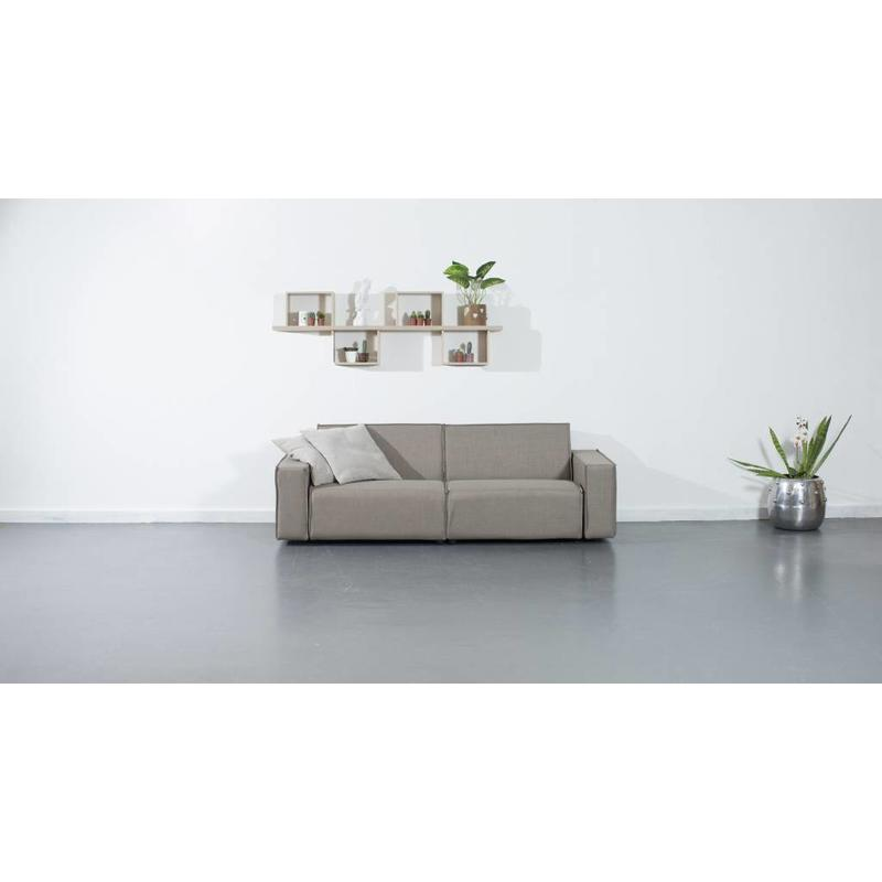 All weather Loungeset 220 cm - Taupe's Touch