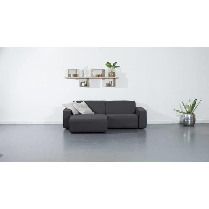 All weather Loungeset L 228x150 cm - Cacao Grey