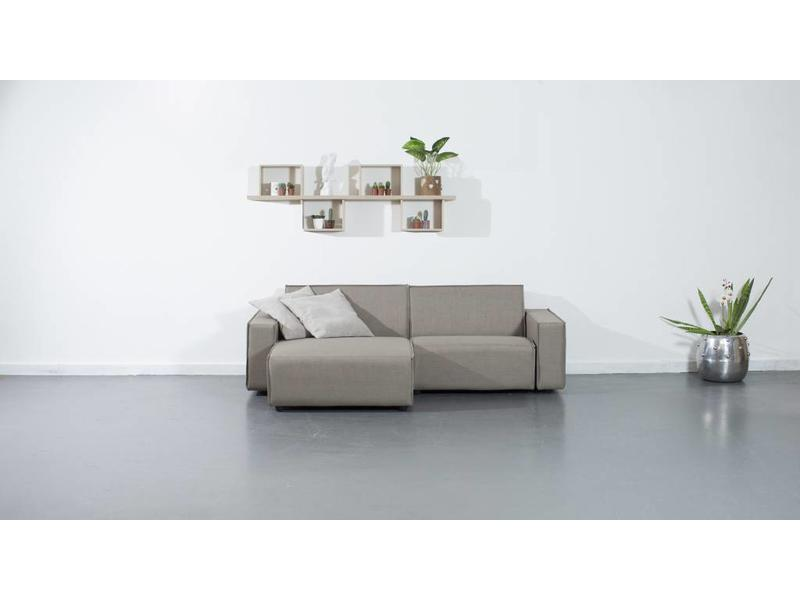 All weather Loungeset L 228x150 cm - Taupe's Touch