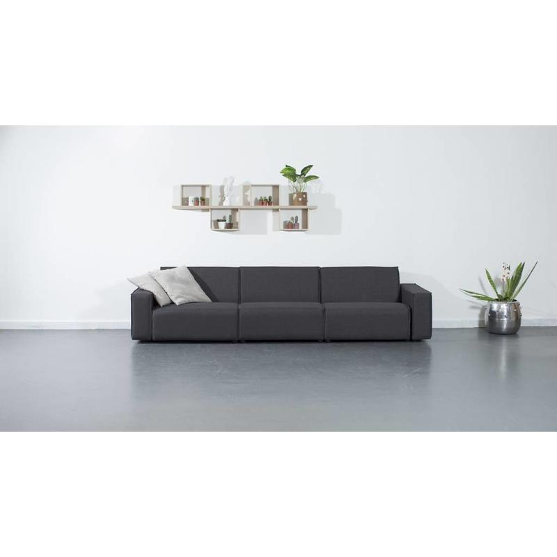 All weather Loungeset 312 cm - Cacao Grey