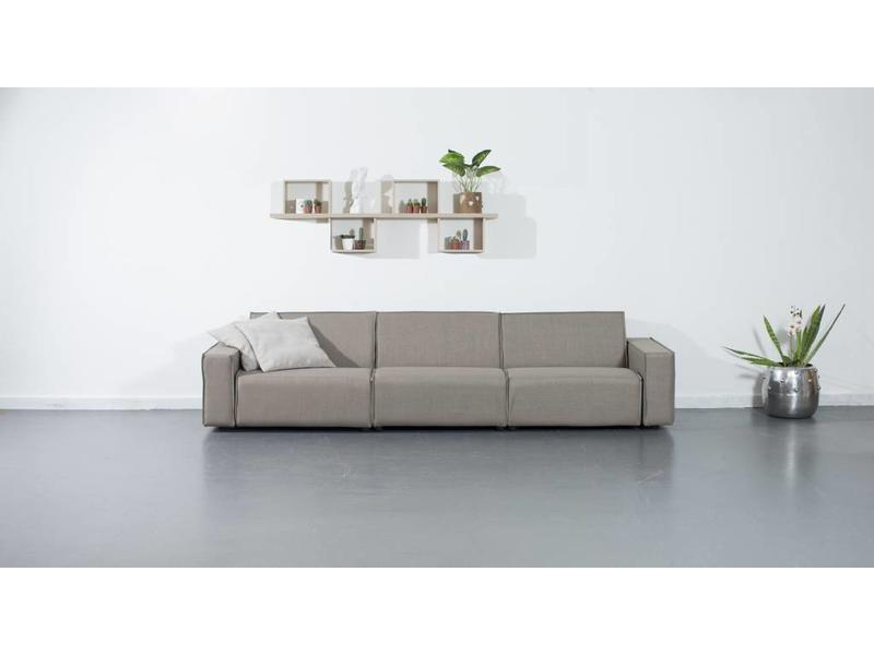 All weather Loungeset 312 cm - Taupe's Touch