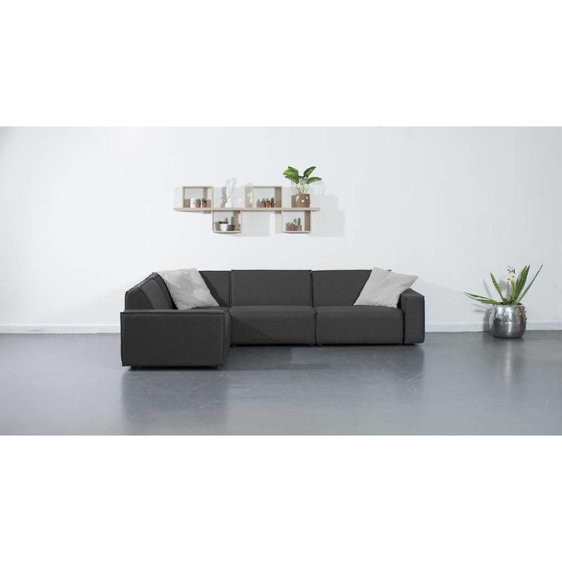 All weather Loungeset 199x291 cm - Cacao Grey