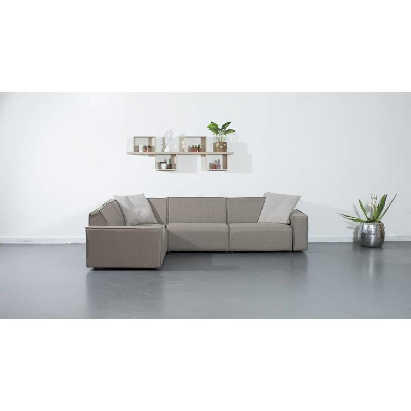 All weather Loungeset 199x291 cm - Taupe's Touch