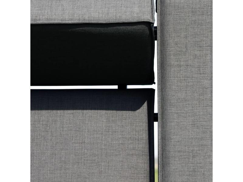 All weather Loungeset + H 291x291 cm - Denim Drift