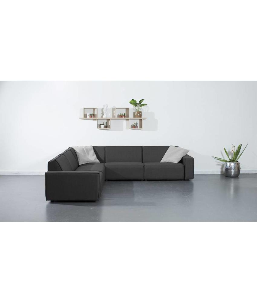 All weather Loungeset 291x291 cm - Cacao Grey