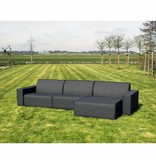 All weather Loungeset R 320x150 cm - Cacao Grey