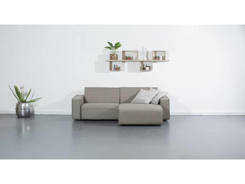 All weather Loungeset R 228x150 cm - Taupe's Touch