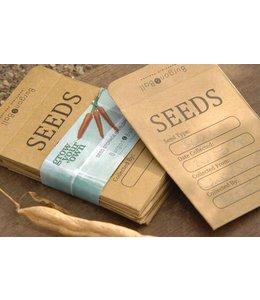 Samentüten für Ihre selbst gezogenen Saaten