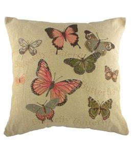 Shabby Chic Kissen Schmetterlinge