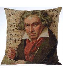 Landhaus Kissenhülle Beethoven 45x45