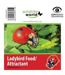 Wildlife World 2 Beutel mit Futter und Lockstoff für Marienkäfer