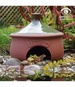 Landgarten Froschhaus Keramik