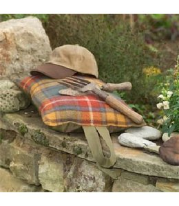 Kniekissen Landhausstil Kniekissen Wolle Antique Buchanan/Olive