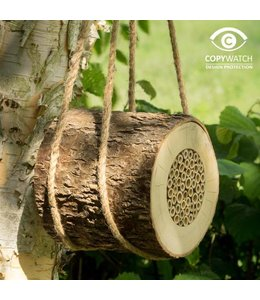 Garten Bienen-Nisthilfe