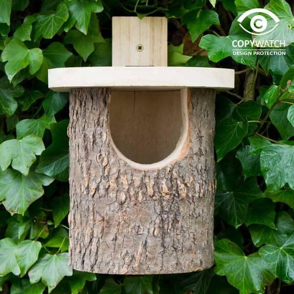 wildlife world nistkasten f r rotkehlchen villa j hn gmbh garten landhaus landleben. Black Bedroom Furniture Sets. Home Design Ideas