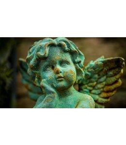 Garten Puttenfigur: Renaissance-Engel - eine echte Rarität