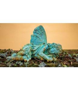 Shabby Chic Schlafende Fee Tinkerbell für Ihren Garten