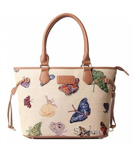 "Englische Country Handtasche ""Butterfly"""