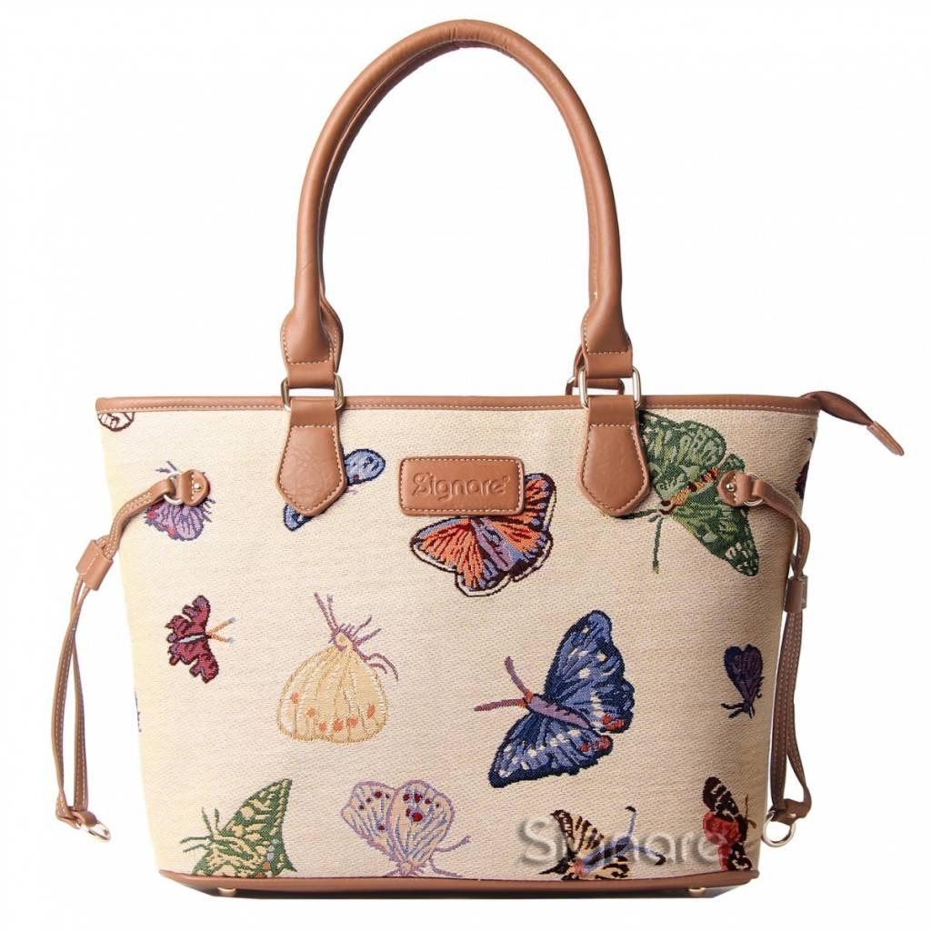 "Signare Englische Country Handtasche ""Butterfly"""