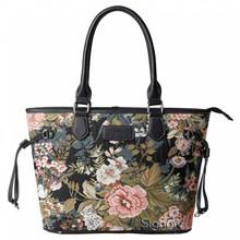 Signare Britische Country Handtasche mit opulentem Blumenmuster