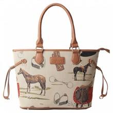 """Signare Elegante, englische Handtasche """"Horse"""""""