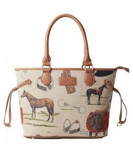 "Garten Elegante, englische Handtasche ""Horse"""