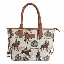 "Signare Country Handtasche ""Horse Racing"""