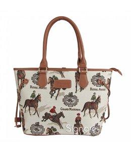 Garten Country Handtasche Pferderennen