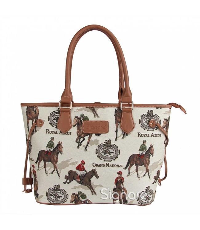 Country Handtasche Pferderennen