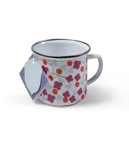 """Sophie Conran 2er Set Emaille-Tasse """"Cherry Blossom"""" Sophie Conran"""