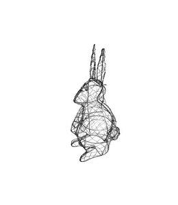 Formschnitt Schablone Hase