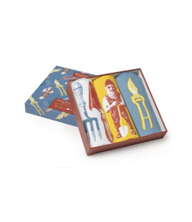 Taschentücher Taschentücher für Gartenfreunde - Geschenkset