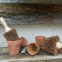 Nutscene Bürste zur Reinigung von Blumentöpfen