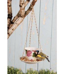 "Futtertasse in Geschenkverpackung ""Tea Time for Birds"""