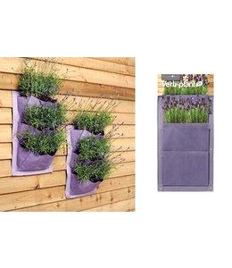 Pflanztaschen für die Wand im 2er-Set (2 Farben)
