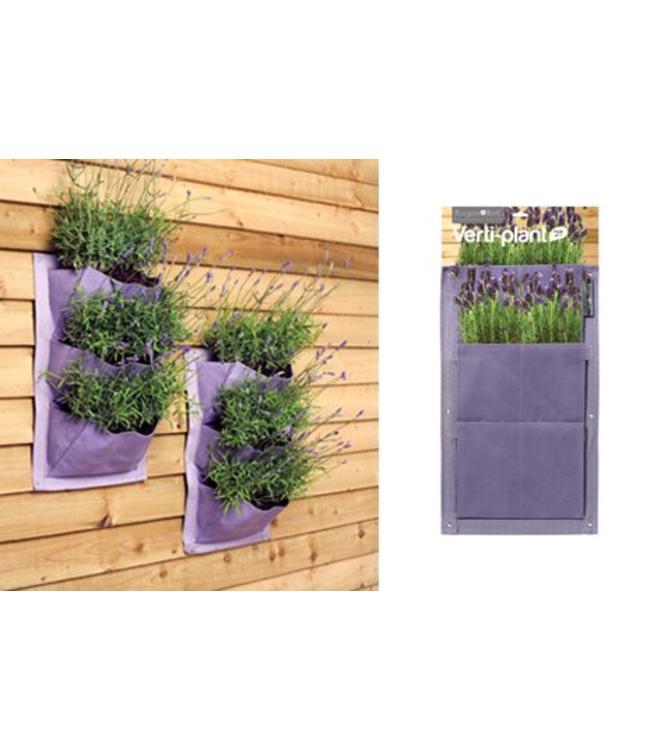 Pflanztaschen für die Wand im 2er-Set (5 Farben)