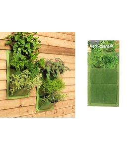 Pflanztaschen für die Wand - 2er-Set, Grün