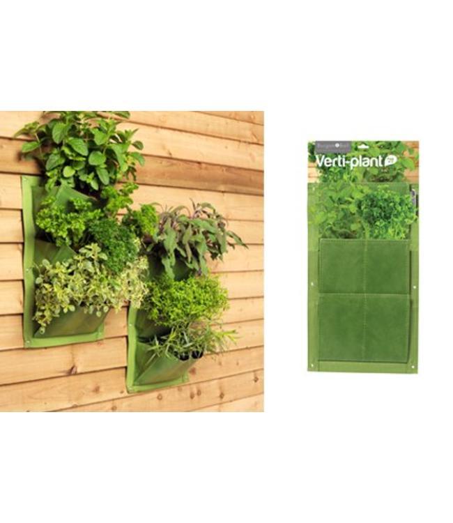 Burgon & Ball Pflanztaschen für die Wand - 2er-Set, Grün