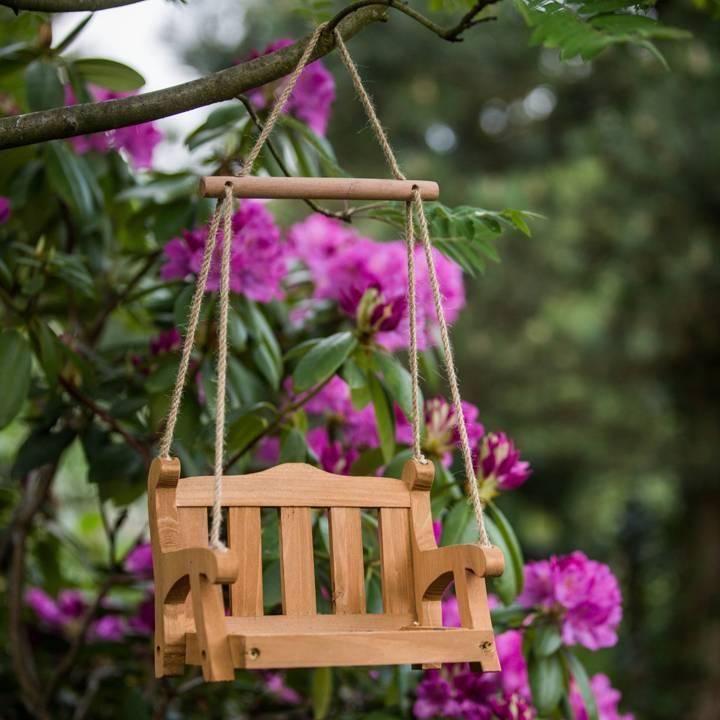 Schaukel Englisch wildlife vogelschaukel englische parkbank villa jähn
