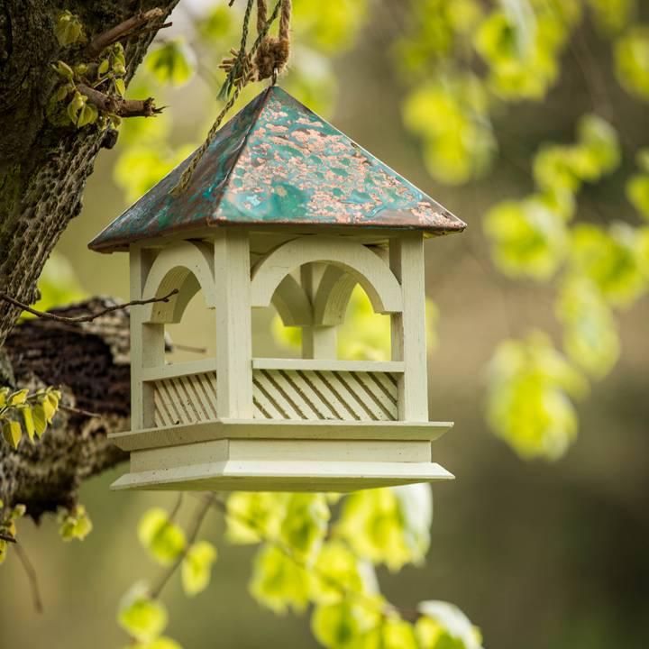 Wildlife World Lindgrünes Vogelhaus mit Kupferdach