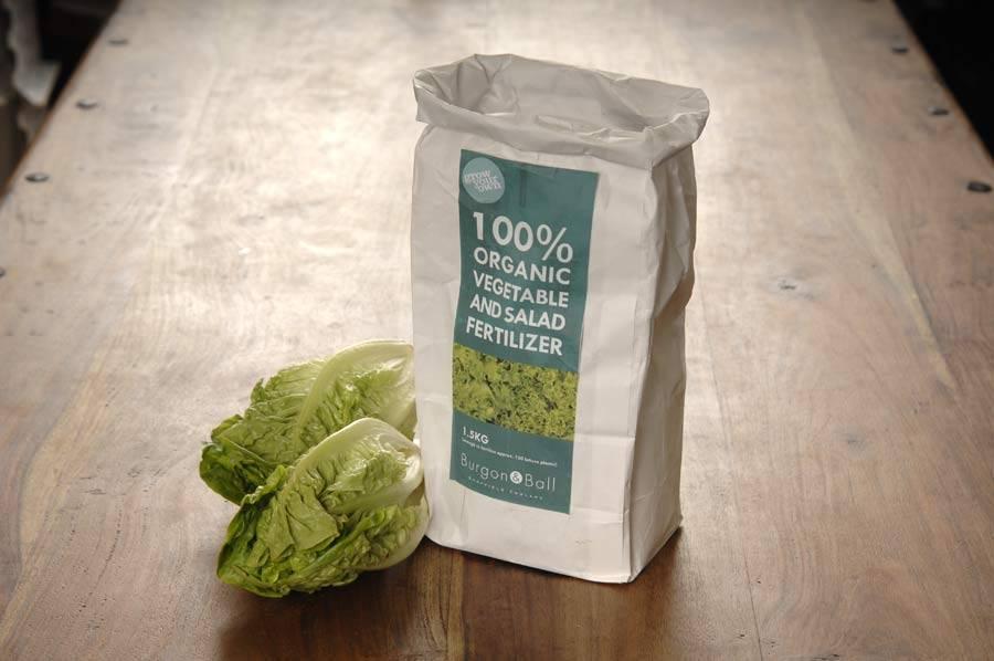Burgon & Ball Organischer Dünger für Gemüse und Salat